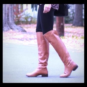 SOLE SOCIETY Sz 8 Brown Knee High Boots